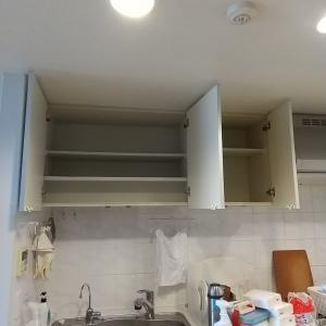 【掃除】【収納】食器の収納と吊戸棚の掃除