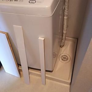 【掃除】洗濯機周り掃除と洗濯グッズの収納