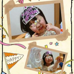 *3歳Birthday*