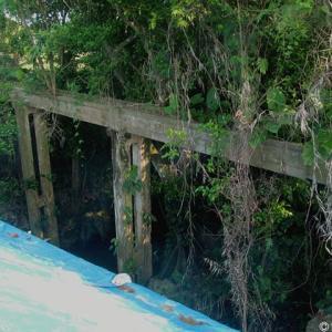今なら良く見える水路橋