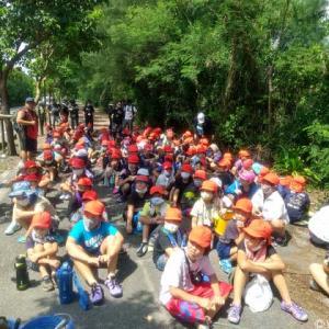 地元・小学生達とアンパル遊び