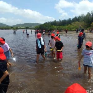 27日は、地元T小学校の子供達と遊びました!