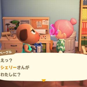 【あつ森】ベーグルちゃんとマッスルスーツ