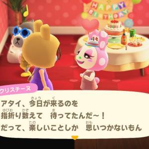 【あつ森】クリスチーヌのお誕生日