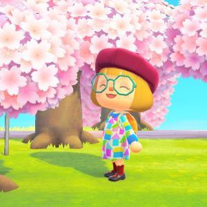 【あつ森】~桜咲くサブ島から~