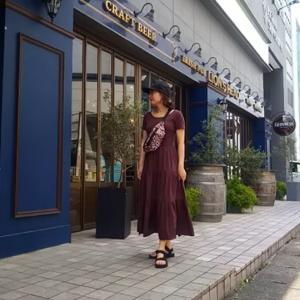 【GU】去年から大活躍☆ティアードワンピース