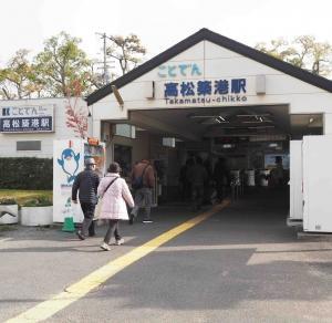 ♪讃岐の街を走っていくの赤い電車は白い線~♪ 琴電のREVIVAL京浜急行1000形電車さんです!!