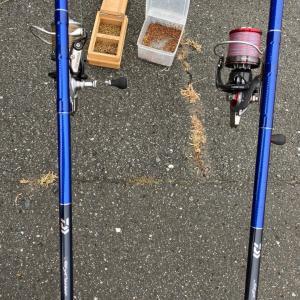久しぶりに釣りした