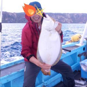船釣り 東積丹 ヒラメ