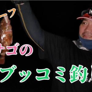 YouTubeにアップしました! 西湘サーフカサゴのブッコミ釣り