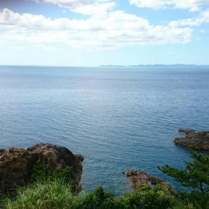 海がきれいだった