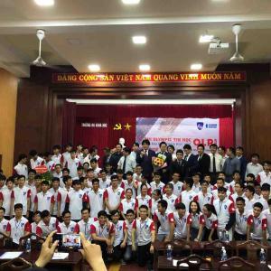 ベトナム国立フエ科学大学で《CODE OLYMPIC》(プログラミングコンテンスト)を開催しました。