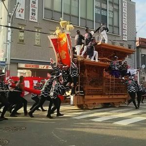 令和元年の岸和田だんじり祭り
