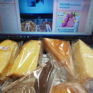 今日もQ足☆俺のパン祭りと寒すぎの朝(@ ̄□ ̄@;)!!