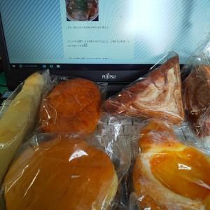 今日の朝ラン☆平和維持活動は俺のパン祭り