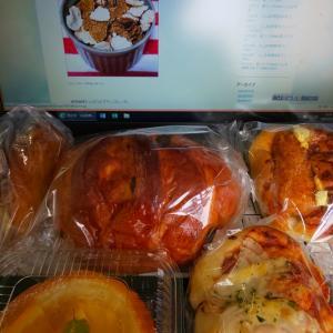 今日の朝ラン☆俺のパン祭り