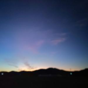 今日の朝ラン☆朝焼け