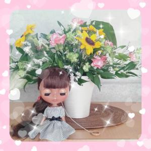 ヨシエさん通信(2019年8月のお花)