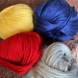 毛糸4色追加