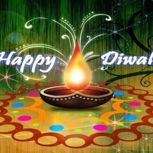 Deepavaliのお祝い