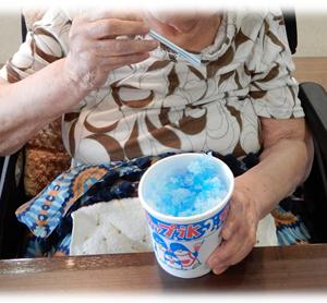 ラピス かき氷調理実習