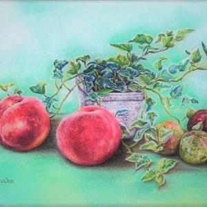 桃子の新作「桃とソルダム」