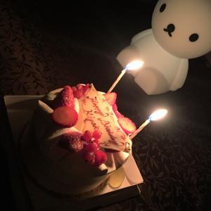 娘の2歳のお誕生日ティータイム