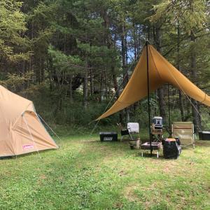 キャンプに来ました♪