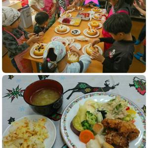 親子で楽しむクリスマスパーティー料理教室!を開催しました!!
