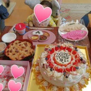 姪っ子ちゃんの1歳の誕生日会!