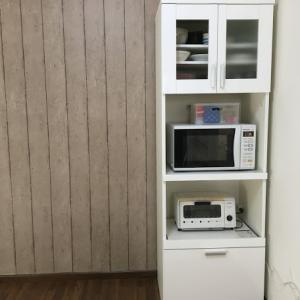 アパートのセルフリノベ~レンジ台のリメイク編