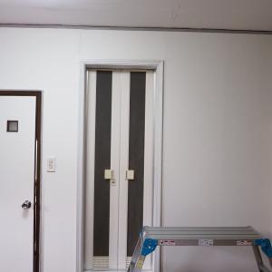 アパートのセルフリノベ~再々利用の間仕切り設置