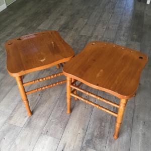 壊れた椅子をリメイクしてみる~完成編