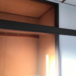 築古アパートのセルフリノベ~押入れ天袋の解体