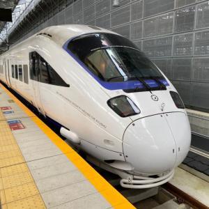 2020年九州旅行その4 長崎ー博多の特急列車