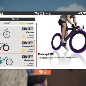 Zwift トロンバイク(Concept Bike)をゲット!