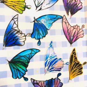 機械仕掛けの蝶のブローチクリップそしてデザフェスへ!
