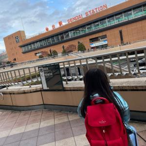 【JAL】大阪発どこかにマイル 卒園旅行で仙台母娘旅①