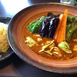 富良野の行列店でスープカレー!!