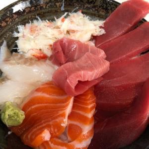 聖火リレー点火式と自作の海鮮丼!