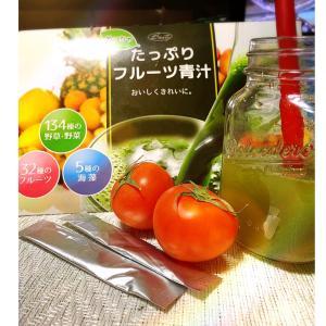 フルーツジュースのような青汁【めっちゃたっぷり フルーツ青汁】