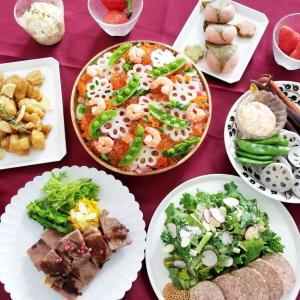 【おうちごはん】Oisixの食材を使った、ひな祭りご飯