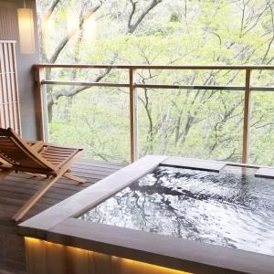 【家族旅行】GWに行った箱根「強羅花扇 円かの杜」