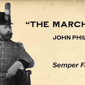 Semper Fidelis / John Philip Sousa (1888)