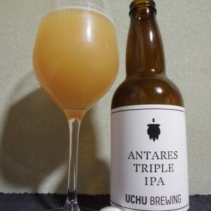 『ビール』うちゅうブルーイング:アンタレス トリプルIPA