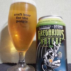『ビール』 エールスミス×ストーン / グレガリウス ネイチャーIPA