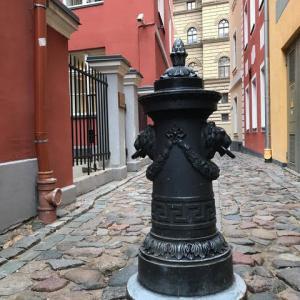 美しい街、ラトヴィアのリガ