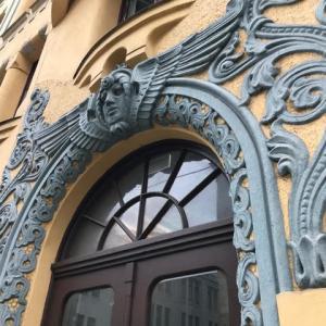 ラトヴィア・リガのアールヌーボー建築