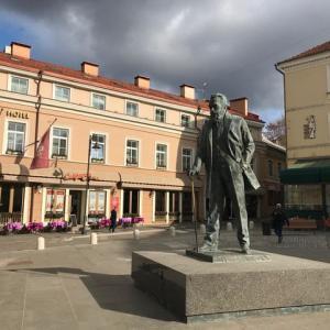 次なる街は、リトアニアのヴィルニュス
