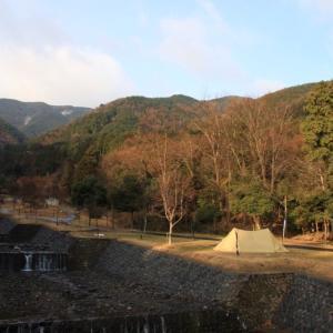 モクモクソロキャンin大津谷公園キャンプ場